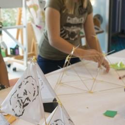 bell tetrahedron assembly workshop