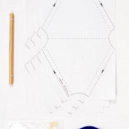 bell tetrahedron kite kit